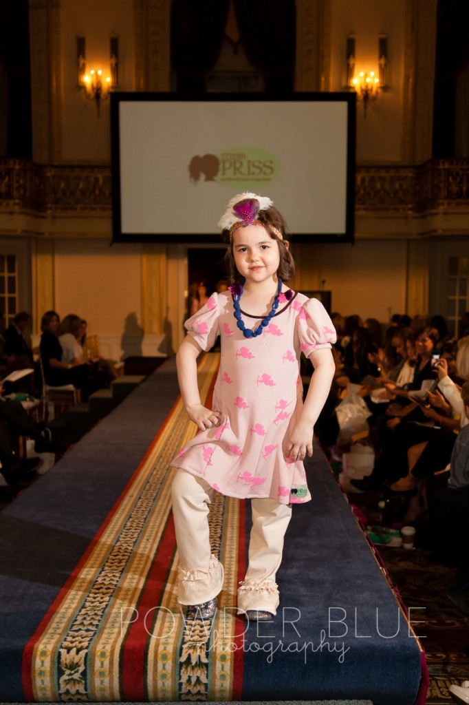 In style with children's runway fashion show photos