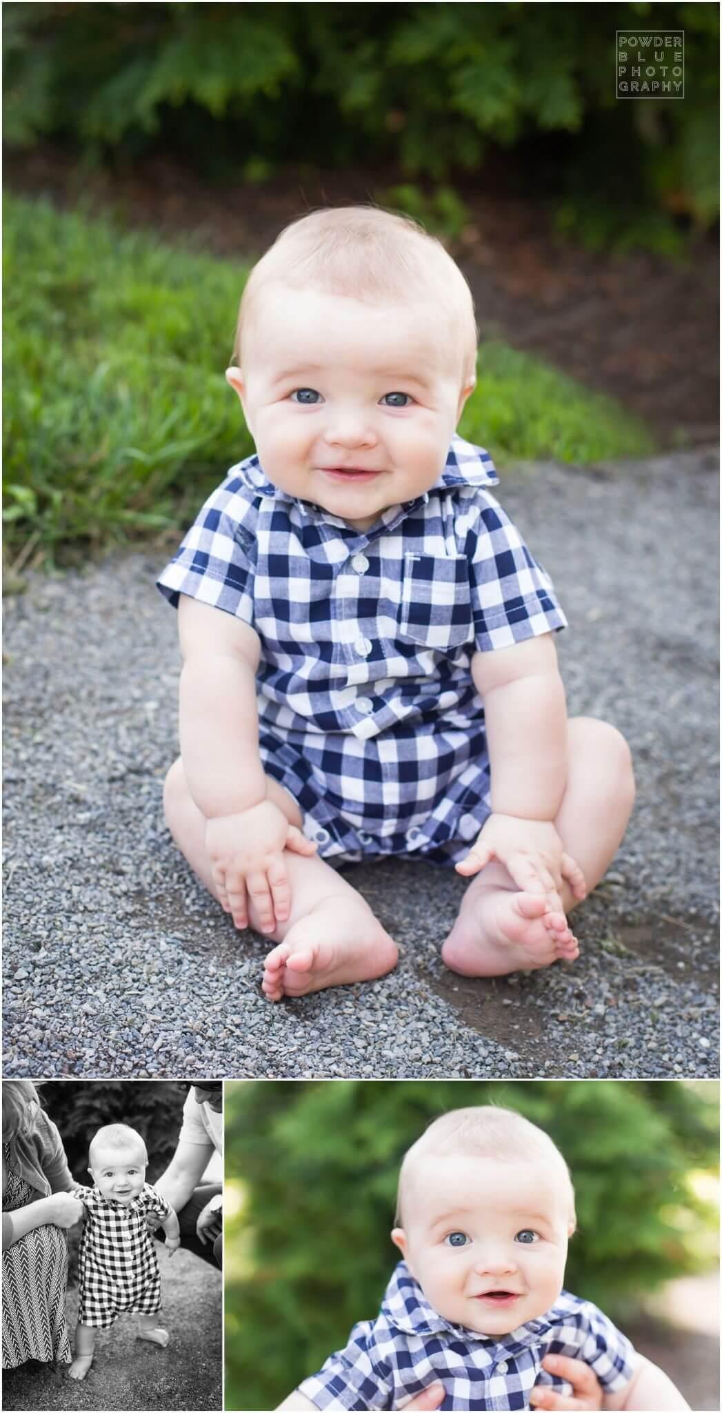 schepley park pittsburgh photographer 5 month old baby