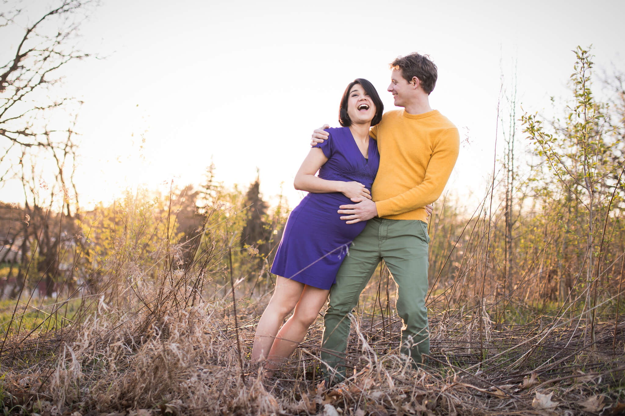 Read more about the article Pittsburgh Maternity Photographer   B Family Maternity Session