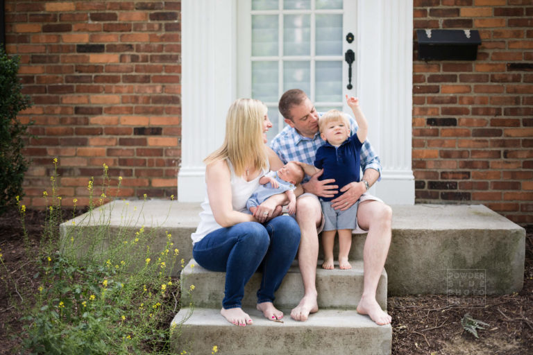 Read more about the article Pittsburgh Newborn Photographer | Outdoor Newborn Portraits | Baby Aidan