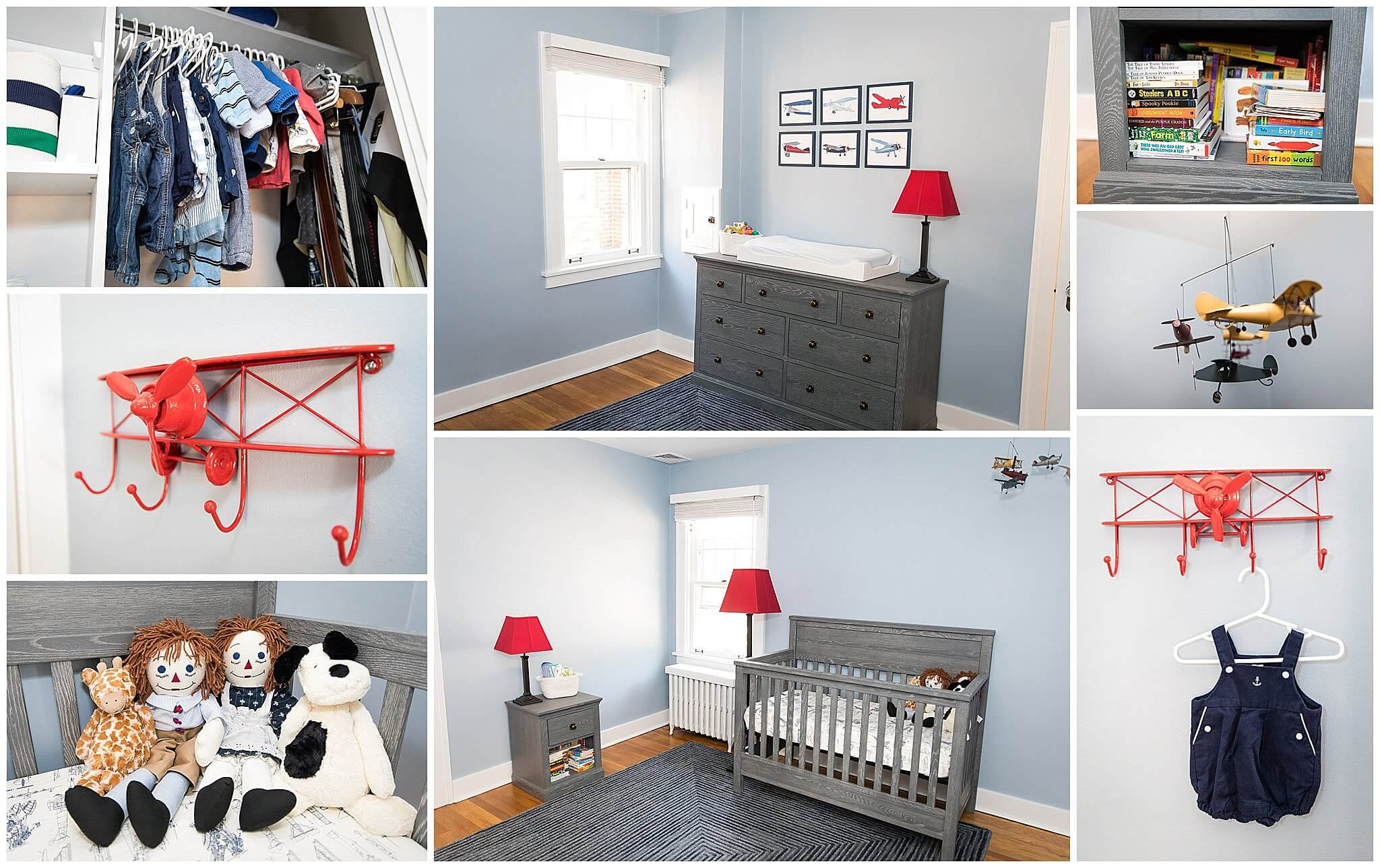 airplane theme baby nursery